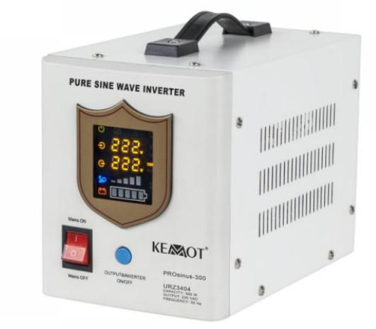 Lacný záložný zdroj (invertér / menič napätia) pre obehové čerpadlo - čistý sínus, 300 W
